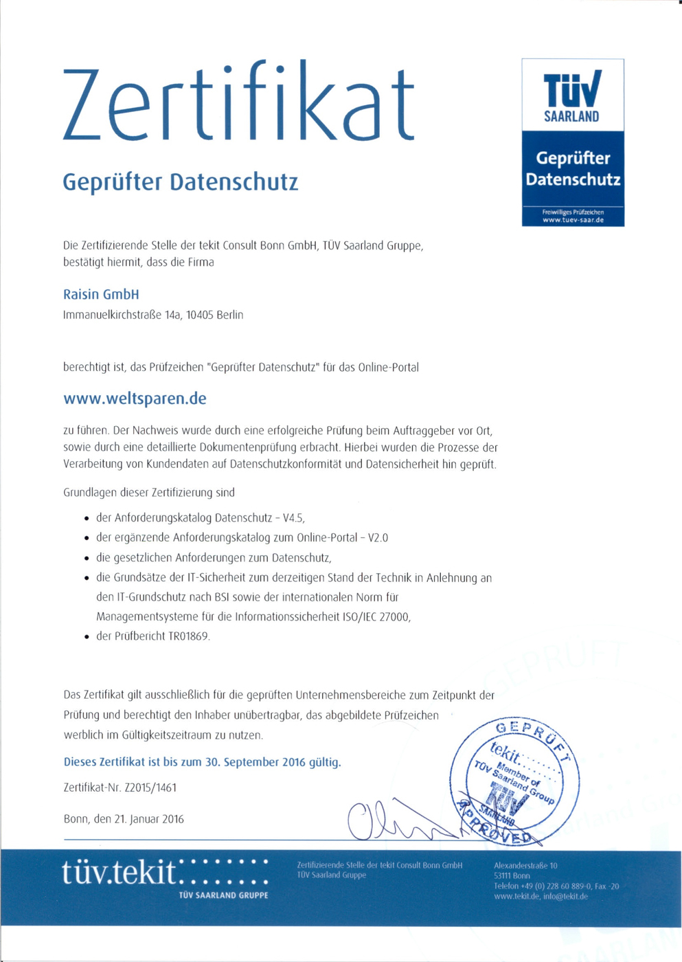 tuv-certificate